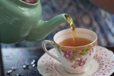 seniors tea cup
