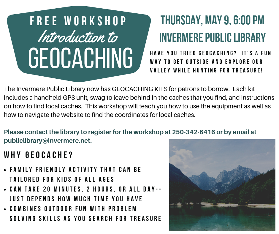Intro to Geocaching @ Invermere Public Library